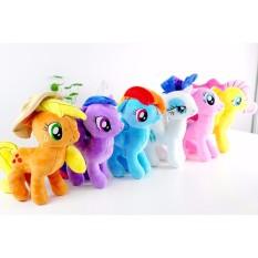 Hình ảnh Bộ 6 ngựa Pony cao 14cm-Hàng thêu đẹp