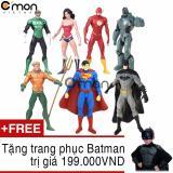 Bán Bộ 7 Sieu Anh Hung Thuộc Lien Minh Cong Lý Justice League C Mon Toys Cao 18Cm Tặng Trang Phục Batman 199 000Đ Người Bán Sỉ