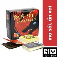 Hình ảnh Bộ bài Trò chơi Ma Sói Characters - Phiên bản Tiếng Việt