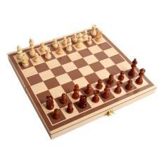 Hình ảnh Bộ bàn cờ vua bằng gỗ tự nhiên 1256
