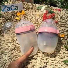 Mã Khuyến Mại Bộ Binh Sữa Comotomo Silicone 150Ml Va 250Ml Hồng Comotomo
