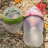 Bộ Binh Sữa Comotomo Silicone 150Ml Xanh Va 250Ml Hồng Comotomo Chiết Khấu 50