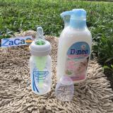 Bán Bộ Binh Sữa Dr Brown Option Cổ Hẹp 120Ml Va Chai Nước Rửa Binh Sữa D Nee 500Ml Xanh Dương Nhạt Rẻ