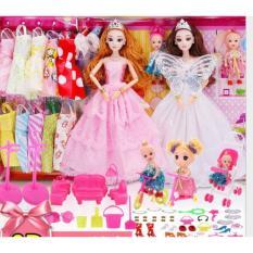 Đồ Chơi Trẻ Em Bộ Búp Bê Barbie Công Chúa đồ Chơi Bé Gái Thay áo Cưới Với Hộp Quà Tặng -AL Siêu Giảm Giá