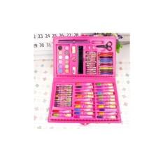 Hình ảnh Bộ bút chì màu 86 món cho bé gái (Hộp mầu hồng)