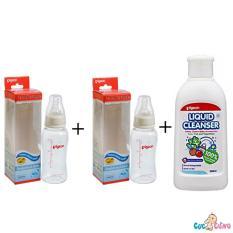 Giá Bán Bộ Cặp Binh Sữa Pigeon Streamline 150Ml Nước Rửa Binh Sữa Chai Pigeon 200Ml Mới Nhất