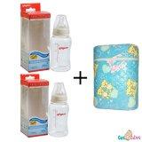 Cửa Hàng Bộ Cặp Binh Sữa Pigeon Streamline 150Ml Va Binh Ủ Sữa Đoi Hello Baby Rẻ Nhất
