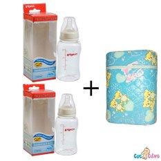 Mã Khuyến Mại Bộ Cặp Binh Sữa Pigeon Streamline 150Ml Va Binh Ủ Sữa Đoi Hello Baby Hồ Chí Minh