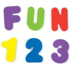 Hình ảnh Bộ Chữ và Số xốp cho bé sớm làm quen bảng chữ cái và con số