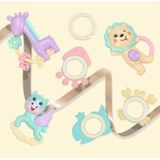 Hình ảnh Bộ đồ chơi 07 món lúc lắc, gặm nướu cho bé