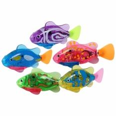 Hình ảnh Bộ đồ chơi 3 Cá điện tử phát sáng Robo fish