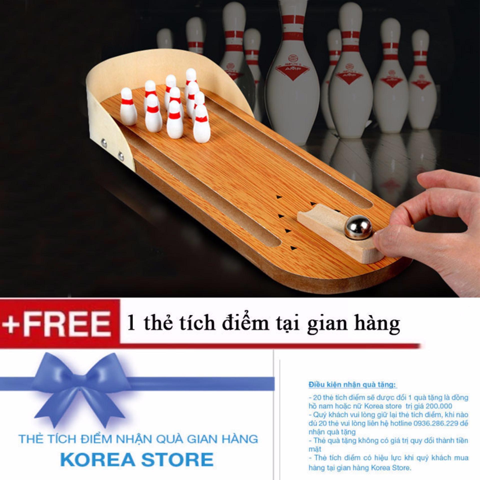 Bộ Đồ Chơi Bowling Bằng Gỗ Cho Bé T&l
