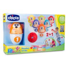 Bộ đồ chơi Bowling Khỉ con Chicco 18M+ ( bộ 6 chiếc)