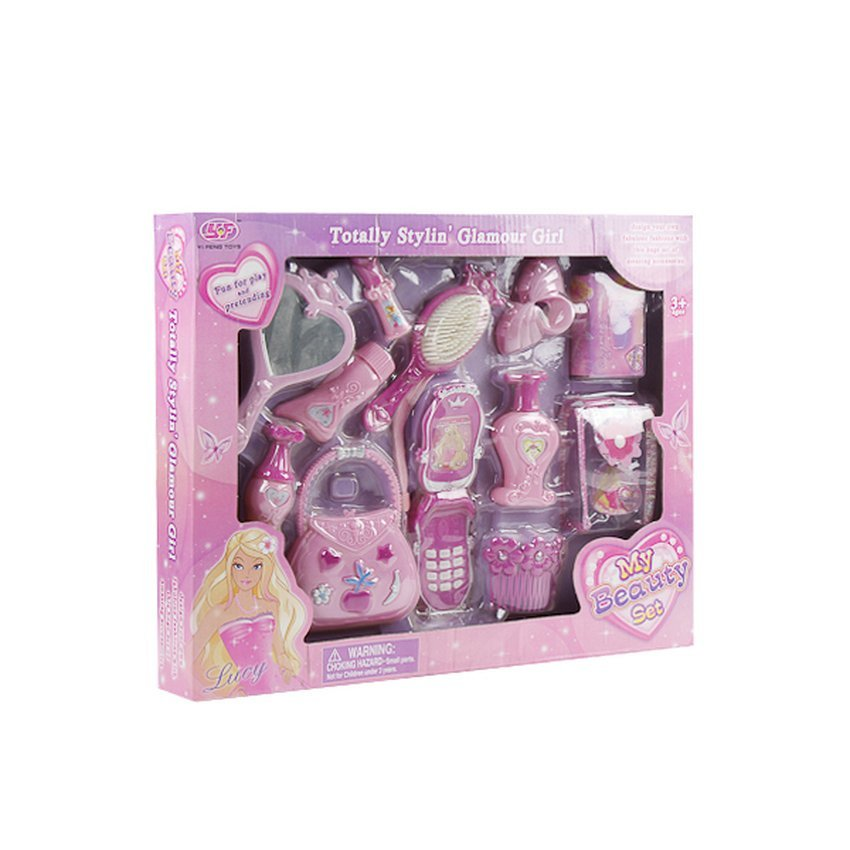 Hình ảnh Bộ đồ chơi Búp Bê Barbie Lagi Lg8062 (Hồng)