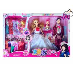 Hình ảnh Bộ đồ chơi búp bê gia đình cỡ to - Khalito