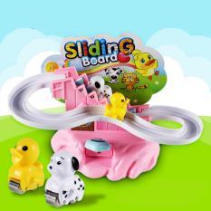 Hình ảnh Bộ đồ chơi chú chó leo cầu trượt sliding board