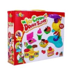 Hình ảnh Bộ đồ chơi đất nặn có máy làm kem cho bé Smartbuy