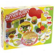 Hình ảnh Bộ đồ chơi đất nặn Hamburger cho bé