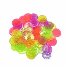 Hình ảnh Bộ đồ chơi đồng xu nhỏ bằng nhựa (100 gram - khoảng 100 cái)