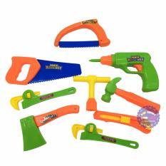 Hình ảnh Bộ đồ chơi dụng cụ sửa chữa 9 món Tool Set bằng nhựa