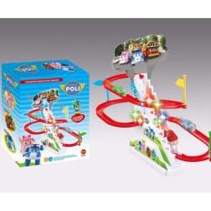 Hình ảnh Bộ đồ chơi đường đua Oto Poli cho bé Cao Cấp