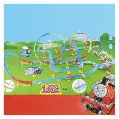 Hình ảnh Bộ đồ chơi đường ray trượt xe lửa có nhạc có đèn cho bé cỡ lớn