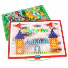 Hình ảnh Bộ đồ chơi ghép hạt nhựa Creative Mosaic