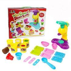 Hình ảnh Bộ đồ chơi ICE CREAM DOUBLE TWISTER - Bột nặn cho các be