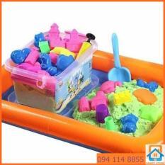 Hình ảnh Bộ đồ chơi khuôn tạo hình Cung điện Cát động lực vi sinh an toàn cho trẻ