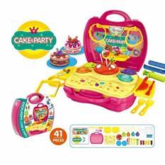 Hình ảnh Bộ đồ chơi làm bánh Cake & Party cho bé