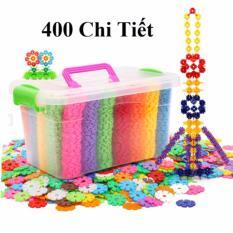Hình ảnh Bộ đồ chơi lắp ghép hình, bộ lắp ghé đồ chơi sáng tạo 400 chi tiết có hộp đựng