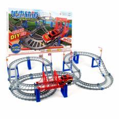 Hình ảnh Bộ đồ chơi lắp ráp đường đua xe ô tô giúp bé phát triển trí thông minh và học an toàn giao thông