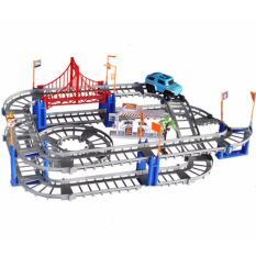 Hình ảnh Bộ đồ chơi lắp ráp đường đua xe ô tô phát triển trí thông minh Trang Anh 57