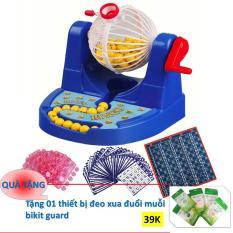 Hình ảnh Bộ Đồ Chơi Lô Tô Bingo + Tặng thiết bị đeo xua đuổi muỗi bikit