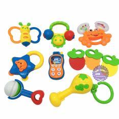 Hình ảnh Bộ đồ chơi lục lạc treo nôi nhiều món Baby Rattle