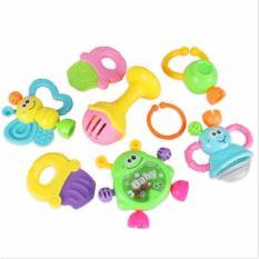 Hình ảnh Bộ đồ chơi lục lạc, xúc xắc 08 món cho bé
