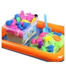 Hình ảnh Bộ đồ chơi nặn cát Vi Sinh kèm nhiều chi tiết