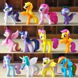 Mã Khuyến Mại Bộ Đồ Chơi Ngựa Pony Đang Yeu Cho Be Loại To 12 Con Oem Mới Nhất
