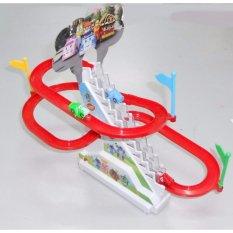 Hình ảnh Bộ đồ chơi ô tô leo cầu trượt chạy bằng Pin