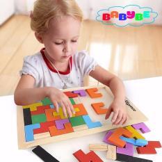 Hình ảnh Bộ Đồ Chơi Phát Triển Tư Duy Cho Bé Babybe