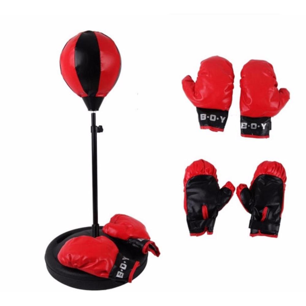 Bộ Đồ Chơi Tập Boxing Cho Bé (Đỏ) Nhật Bản