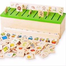 Hình ảnh Bộ đồ chơi thả hình bằng gỗ theo chủ đề giúp bé phát triển khả năng quan sát