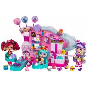 Hình ảnh Bộ Đồ Chơi tiệc game Shopkins Join the Party Large Playset - Party Game Arcade (Mỹ)