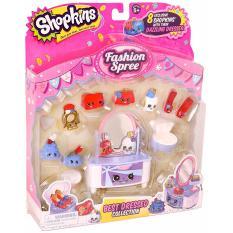 Hình ảnh Bộ đồ chơi thời trang Shopkins S3 Best Dressed Fashion Pack (Mỹ)