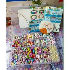 Hình ảnh Bộ đồ chơi Xâu Vòng Hạt Cườm Xinh Xắn Cho Bé Gái (loại đẹp)