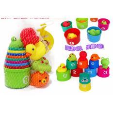 Hình ảnh Bộ đồ chơi Xếp cốc và các các vật dưới nước