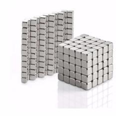 Hình ảnh Bộ đồ chơi xếp hình 3mm/216 viên nam châm thông minh vuông / nam châm ảo thuật