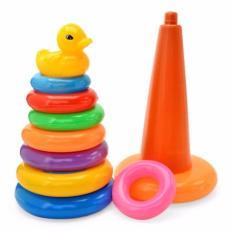 Hình ảnh Bộ đồ chơi xếp tháp vịt nhiều màu cho bé