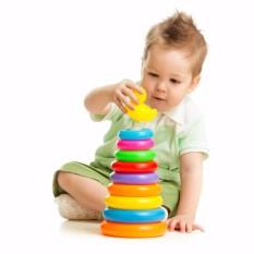 Hình ảnh Bộ đồ chơi xếp vòng tháp vịt cho bé
