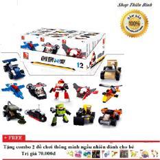 Hình ảnh Bộ ghép hình lego Chiến cơ siêu hạng Sluban - 323 chi tiết - M38-B0591